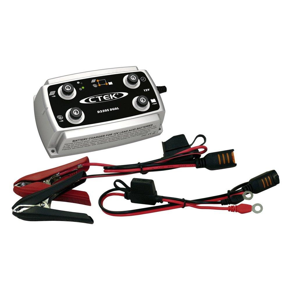 ctek d250s dual battery charger. Black Bedroom Furniture Sets. Home Design Ideas