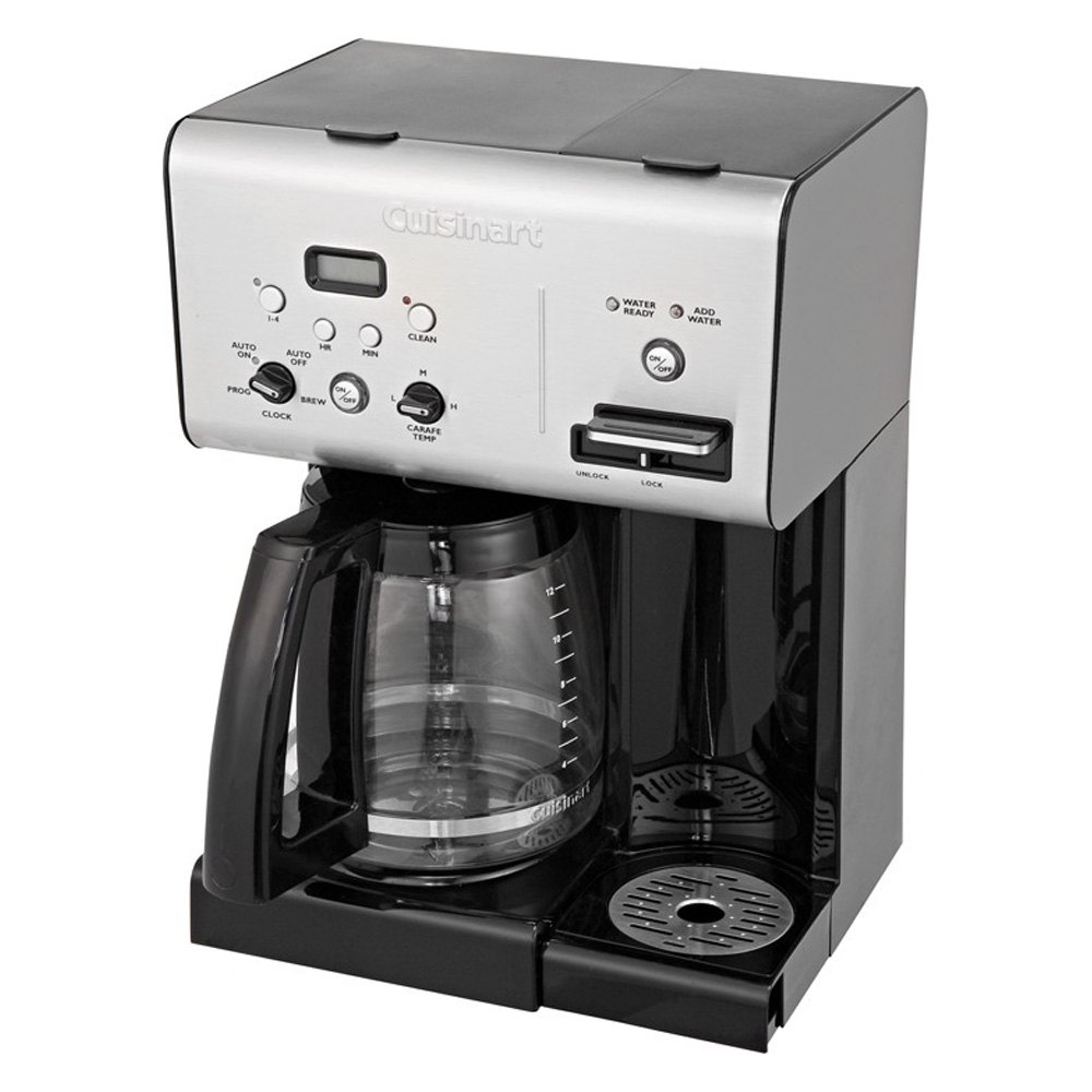 Cuisinart CHW12 - Coffee Plus 12-Cup Programmable Coffeemaker with Hot Water System