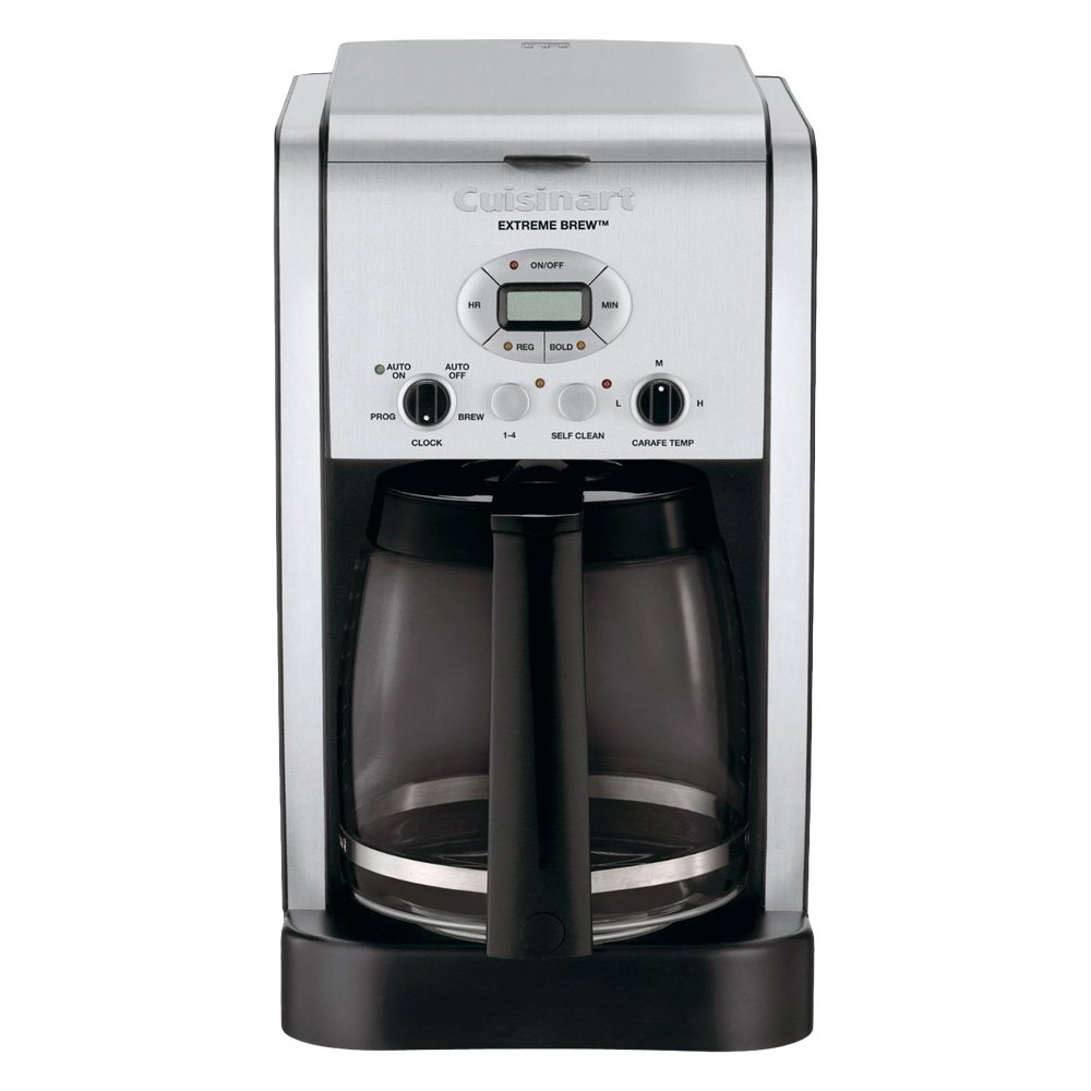 Cuisinart Coffee Maker Dcc 2650 : Cuisinart DCC-2650 - Extreme Brew 12-Cup Programmable Coffeemaker