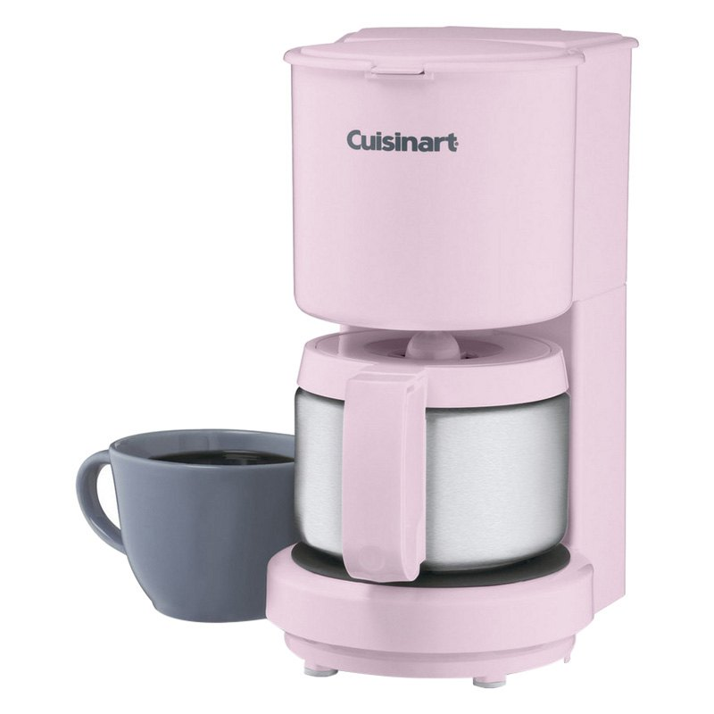 Coffee Maker Tastes Like Metal : Cuisinart DCC450PK - 4-Cup Coffeemaker With Stainless Steel Carafe
