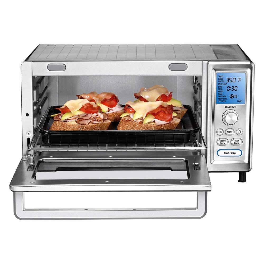 Cuisinart TOB 260 N1 Chef s Convection Toaster Oven Pizza Stainless Steel