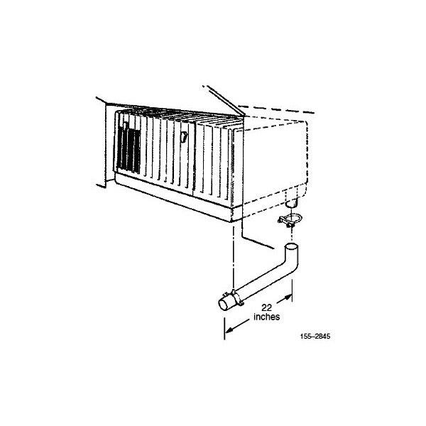 Onan 6500 Commercial Generator Wiring Diagram: Exhaust Tube Kit MicroQuite