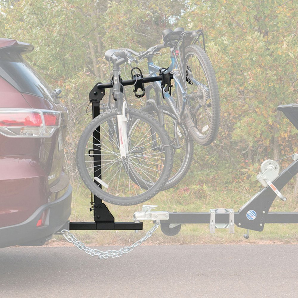 Extendable Bike Rack : Curt towable extendable hitch mount bike rack