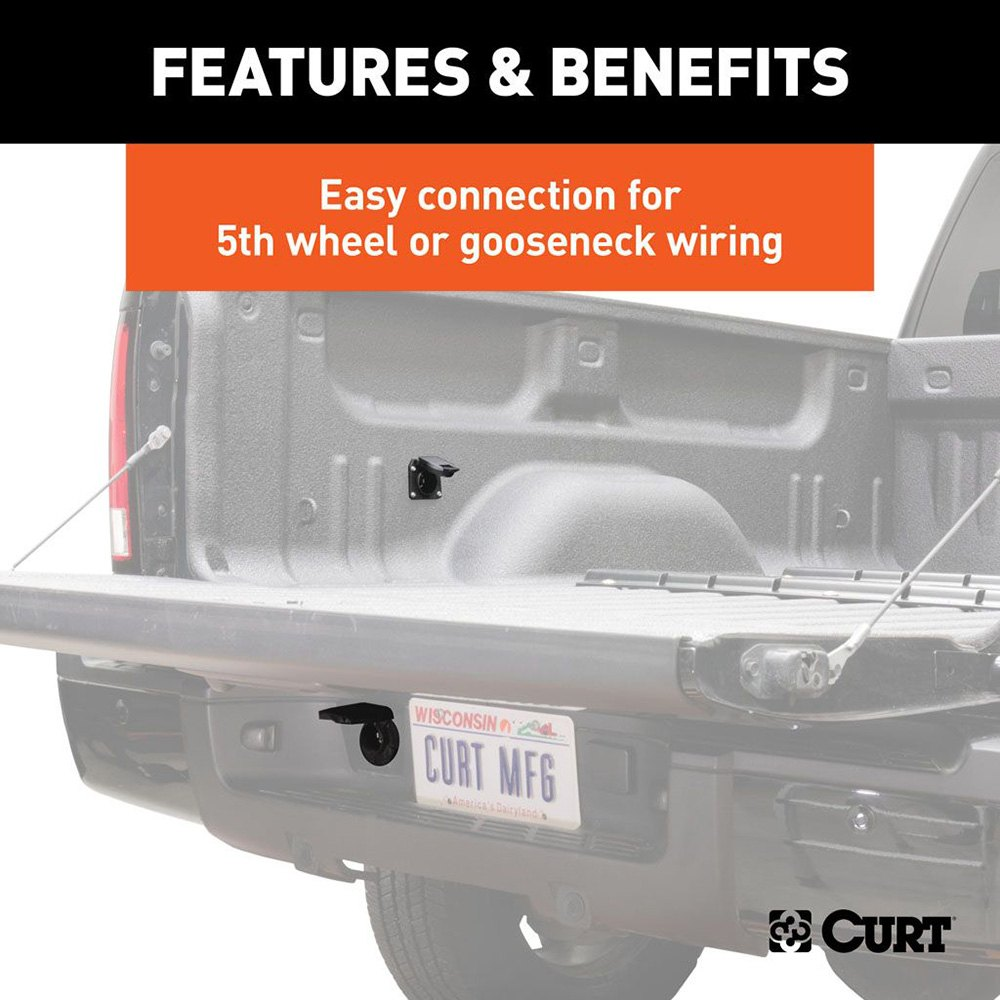 Curt� 56070010 7' 5th Wheel And Gooseneck Wiring Harnessrhcarid: Curt 7 Wiring Harness At Gmaili.net