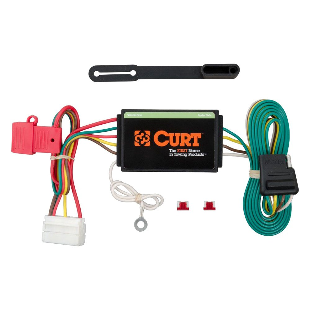 Curt 56192 T Connector Tconnector Vehicle Wiring Harness With 4 Pole Trailer