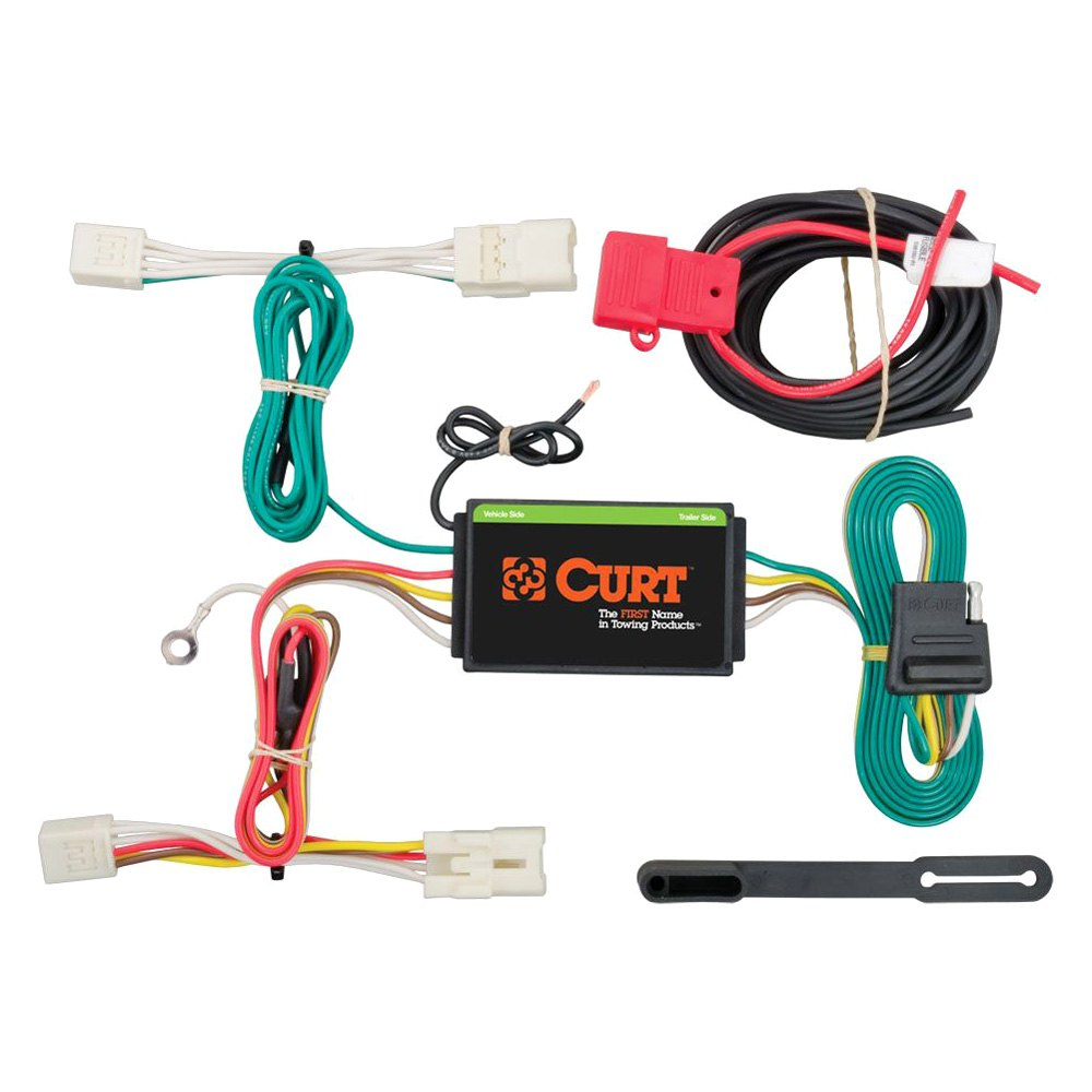 CURT® 56233 - T-Connector (With Powered 3-to2-Wire Tail Light ...