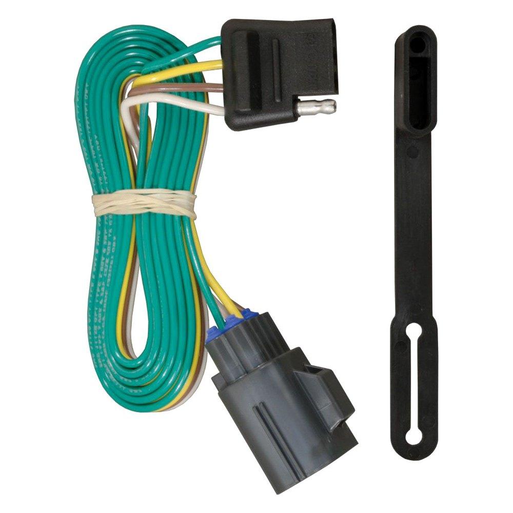 Curt Trailer Plug Wiring Diagram : Curt gmc acadia t connector
