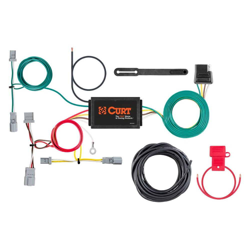 curt honda civic 2001 2005 towing wiring harness. Black Bedroom Furniture Sets. Home Design Ideas
