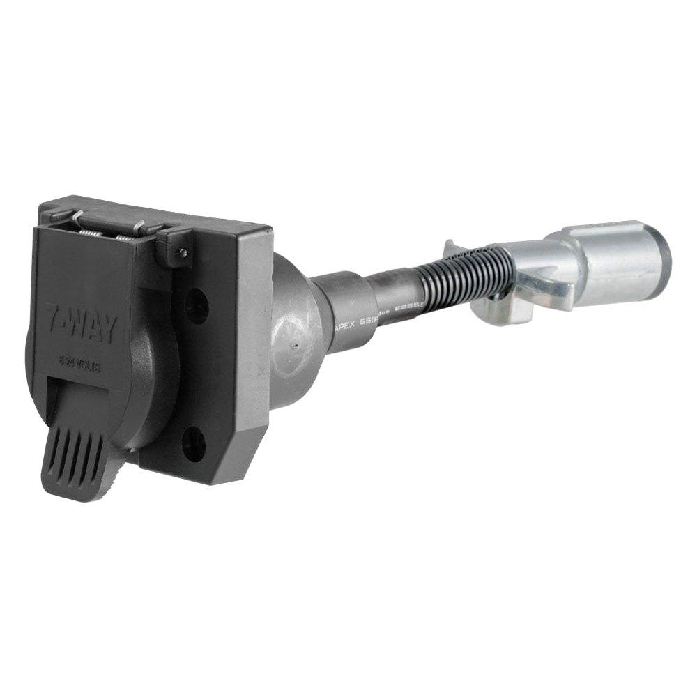 CURT       6      Way    Round to 7   Way    RV Blade Adapter   eBay