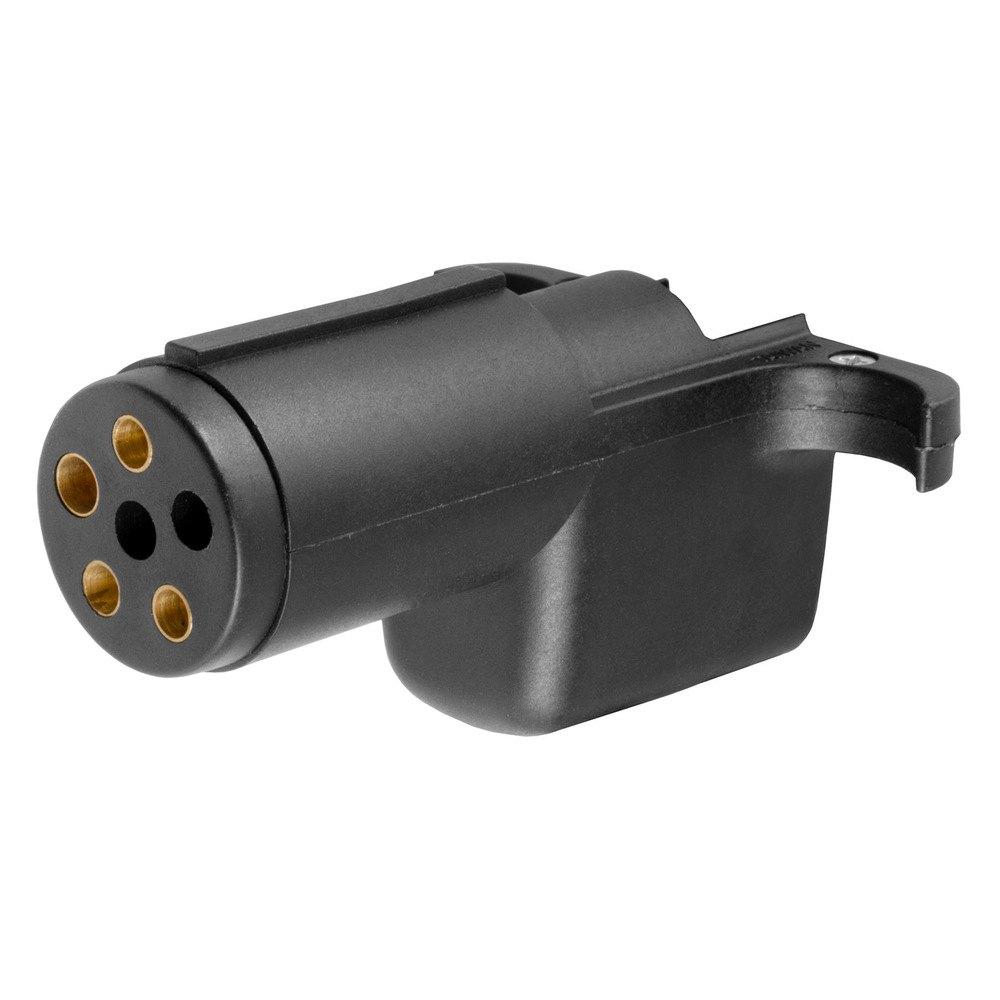 CURT      57620     6      Way    Round to 4   Way    Flat Adapter