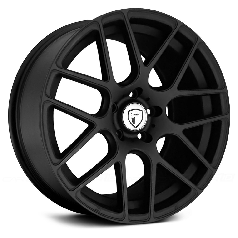 CURVA® C7 Wheels - Matte Black Rims