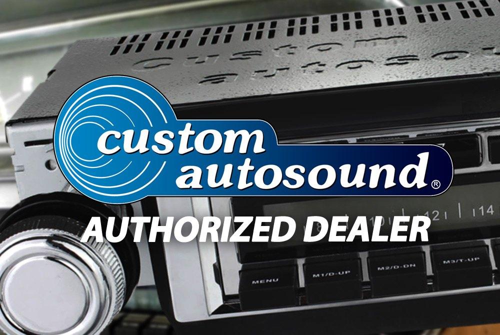 Custom Autosound® - Dual Voice Coil Dash Speakers