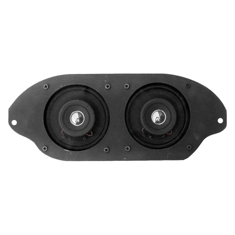 Custom Vehicle Speakers : Custom autosound quot dual dash mount