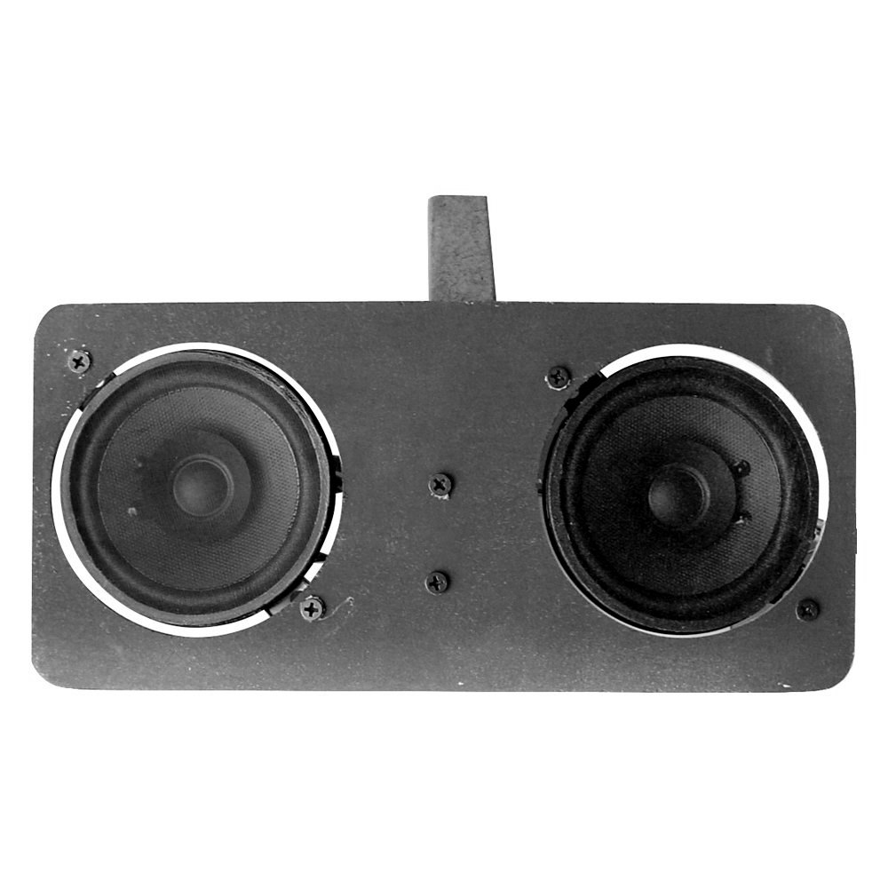 Custom Vehicle Speakers : Custom autosound quot dual dash mount speaker