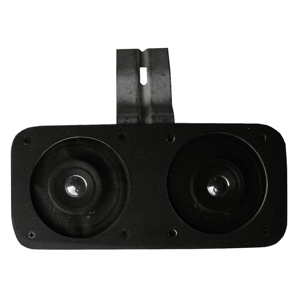Custom Vehicle Speakers : Custom autosound  quot bracketed dual dash