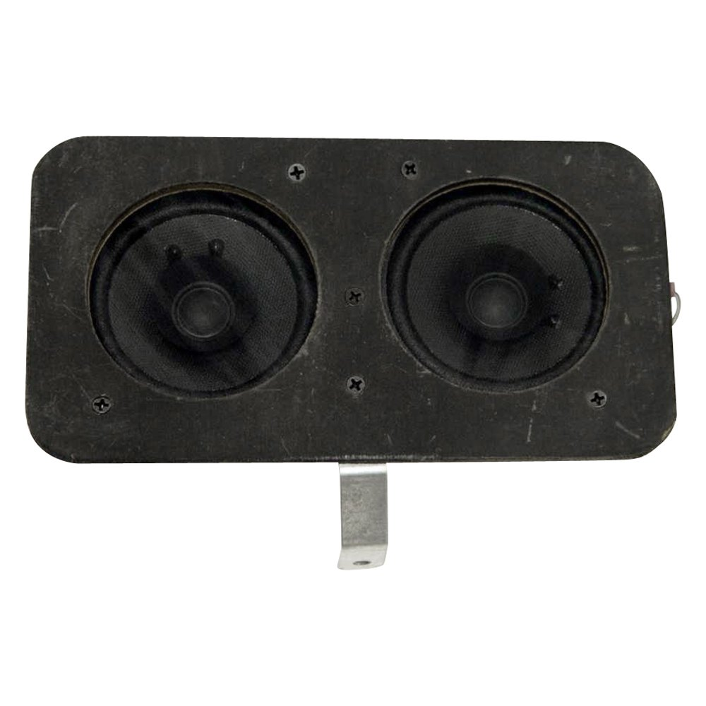 Custom Vehicle Speakers : Custom autosound bracketed dual dash quot speakers