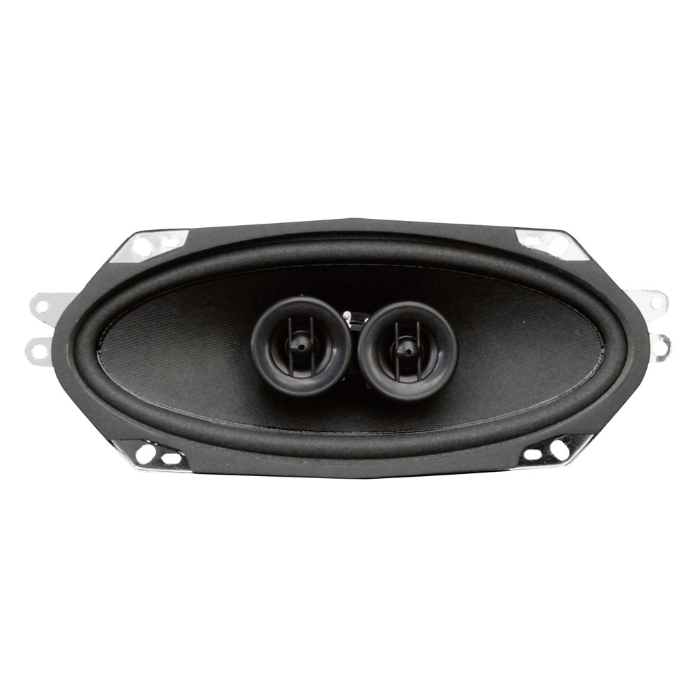 Custom Vehicle Speakers : Custom autosound dvc quot dual voice coil dash