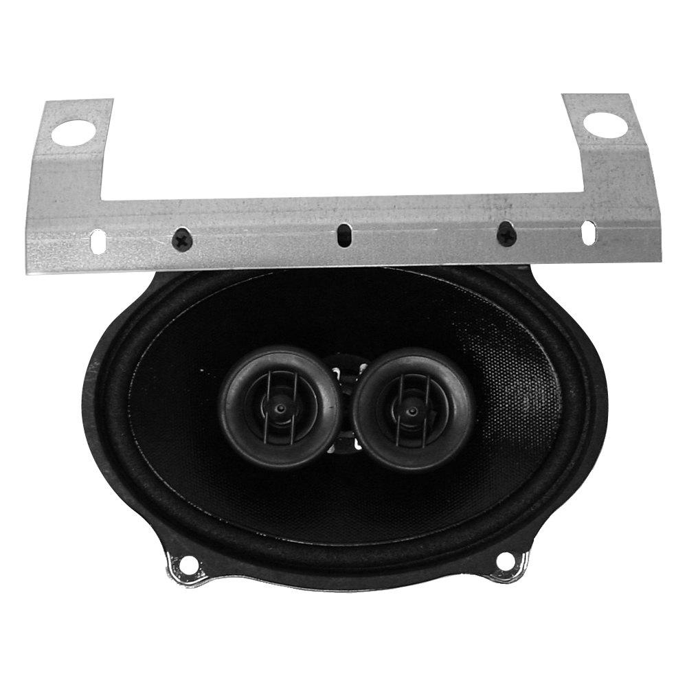 custom autosound dual voice coil dash speakers. Black Bedroom Furniture Sets. Home Design Ideas