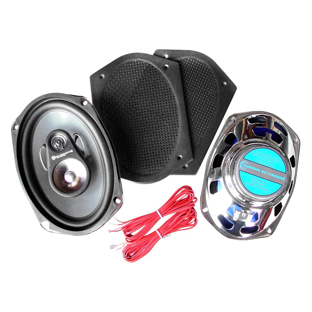 Custom Vehicle Speakers : Custom autosound cam c quot way w speakers