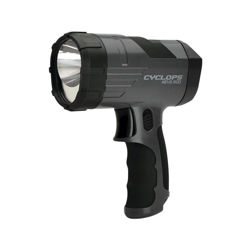 Garage Lights Keep Burning Out: 500-Lumen XEVO Handheld Spotlight