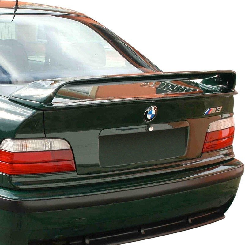 D2s 174 Bmw 3 Series Coupe E36 Body Code 1992 H Style Fiberglass Rear Wing