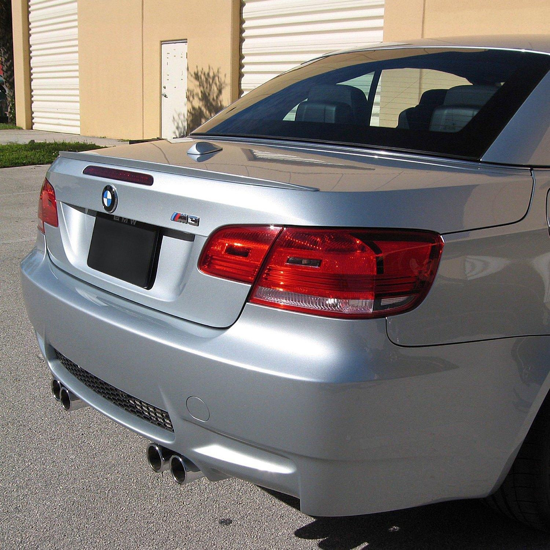 BMW 3-Series Convertible 2007 M3 Style Rear Lip Spoiler