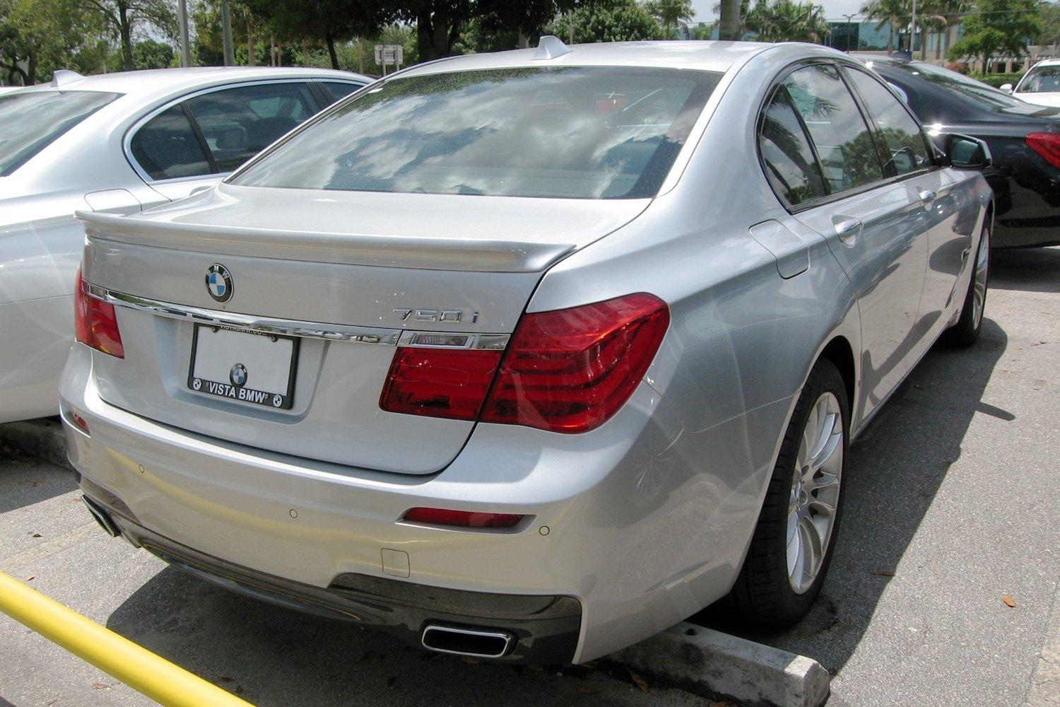 Alpina B7 Style Carbon Fiber Rear Lip Spoiler