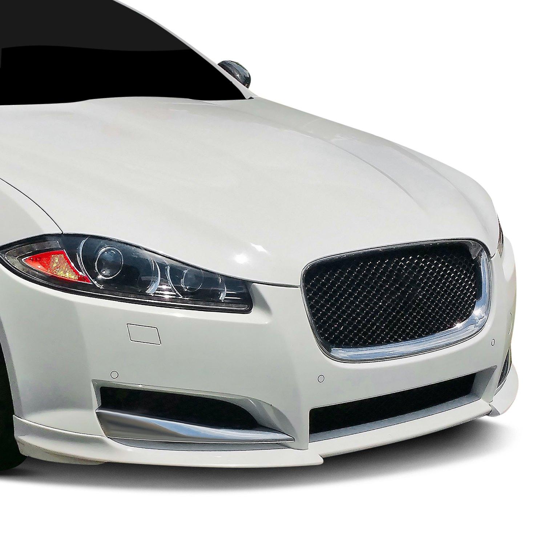 Jaguar XK /& XKR Carbon Fiber Front Bumper Apron Upgrade 2010-11 Aero Styling Kit