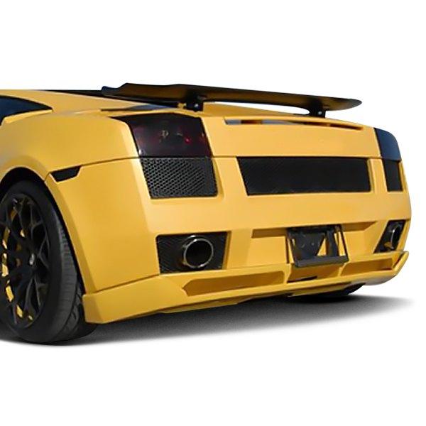For Lamborghini Gallardo 04 07 Rear Bumper Skirt Hamann Style
