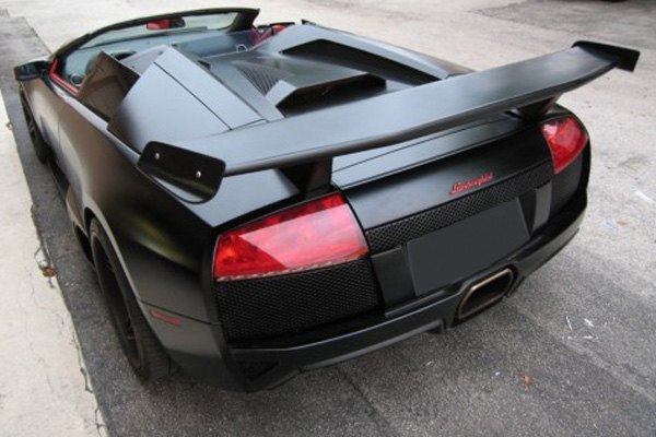 Details About For Lamborghini Murcielago 02 10 Rear Wing Spoiler With Winglets Miura Style