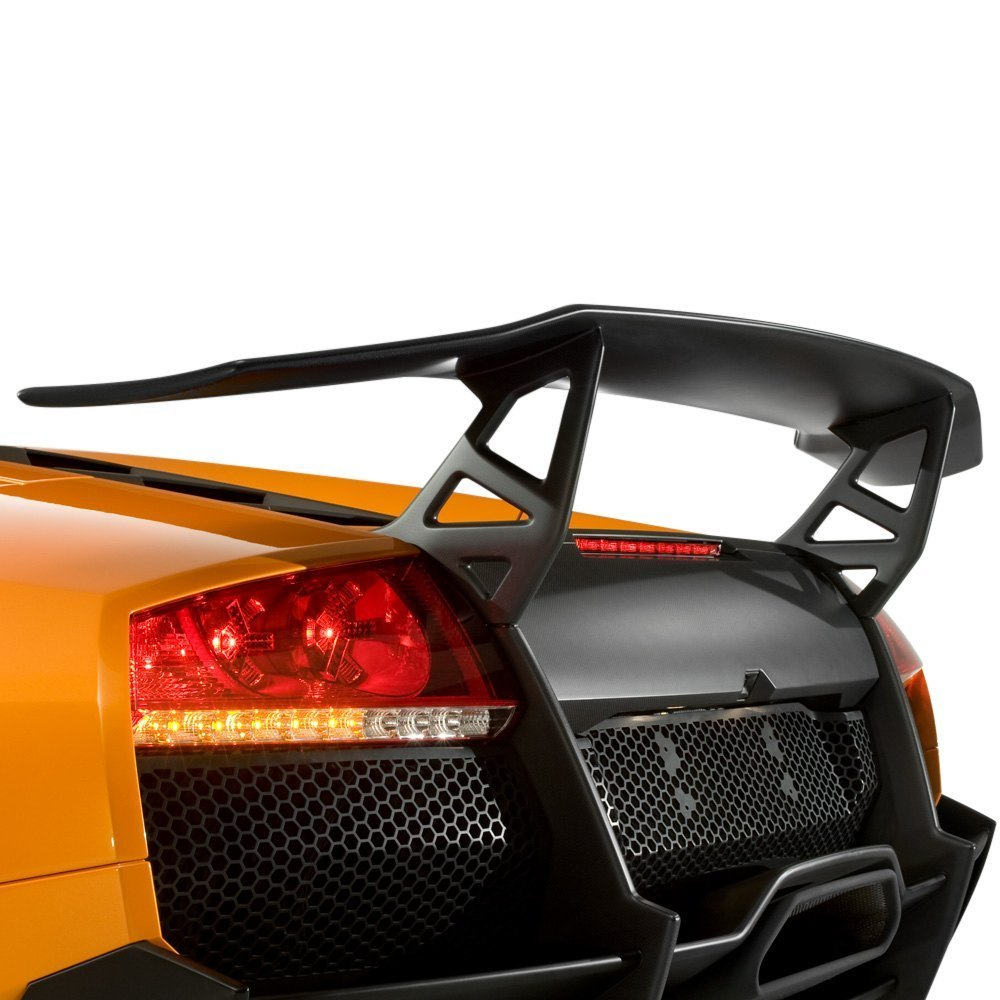 D2s Lp670sv Style Rear Wing With Light