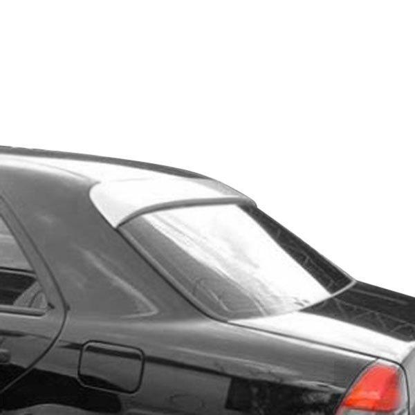 For Mercedes-Benz C280 94-00 Roofline Spoiler Reiger Style Fiberglass Rear