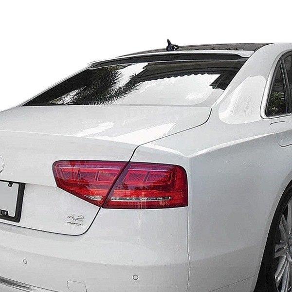 Audi A8 Sedan 2013 LT Style Rear Roofline Spoiler