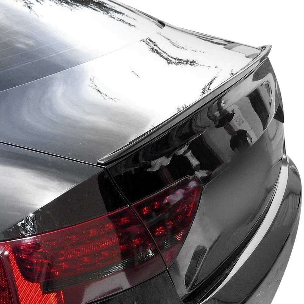 d2s a5 l1 painted euro style rear lip spoiler painted. Black Bedroom Furniture Sets. Home Design Ideas