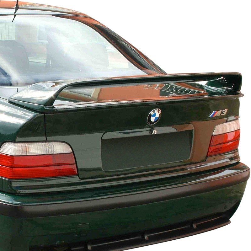 D2s 174 Bmw 3 Series Coupe E36 Body Code 1992 1998 H Style Fiberglass Rear Wing Spoiler