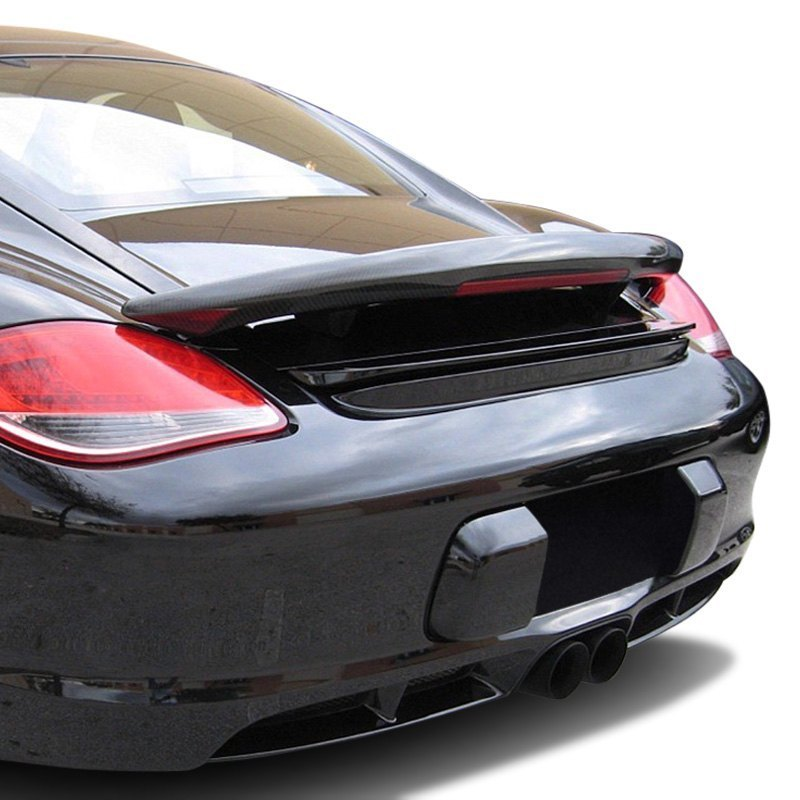 d2s porsche cayman 2007 aero style rear wing with light. Black Bedroom Furniture Sets. Home Design Ideas