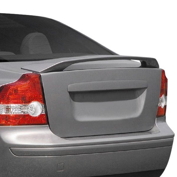 For Volvo S40 04-11 Pure Factory Style Fiberglass Rear Spoiler Unpainted