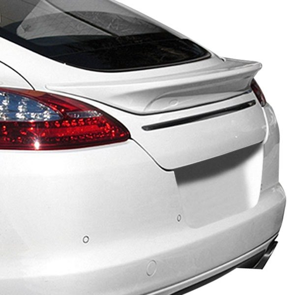 Panorama Porsche Car: Porsche Panamera 2010-2013 SpeedArt Style Rear Lip