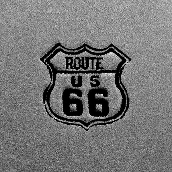 Dash Designs Lg266 Route 66 Embroidery Logo