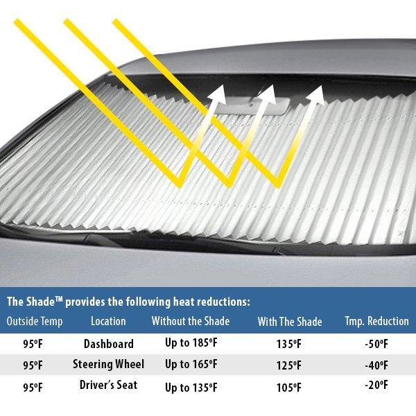 Dash Designs Ss015 20 Shade Retractable Sun Shade