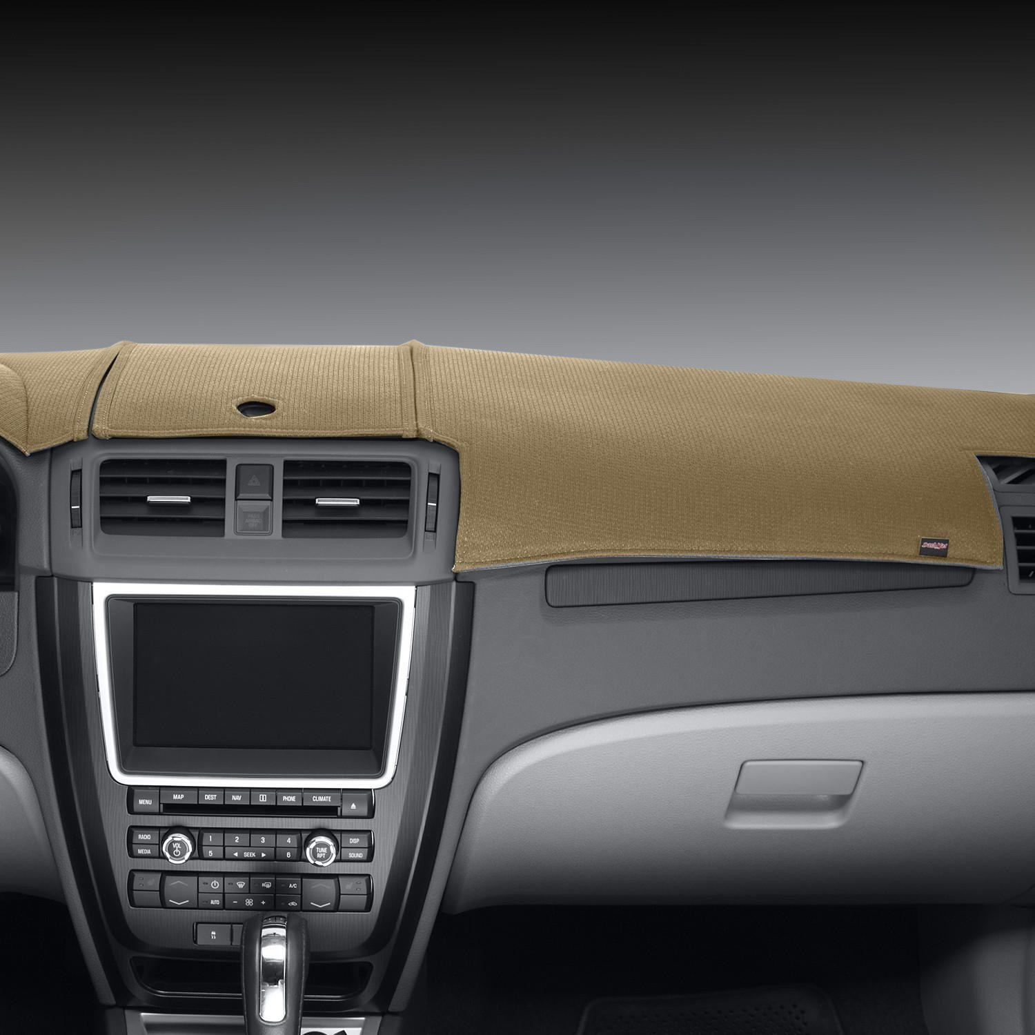 Dashmat Limited Edition Beige Polyester Custom Dash Cover