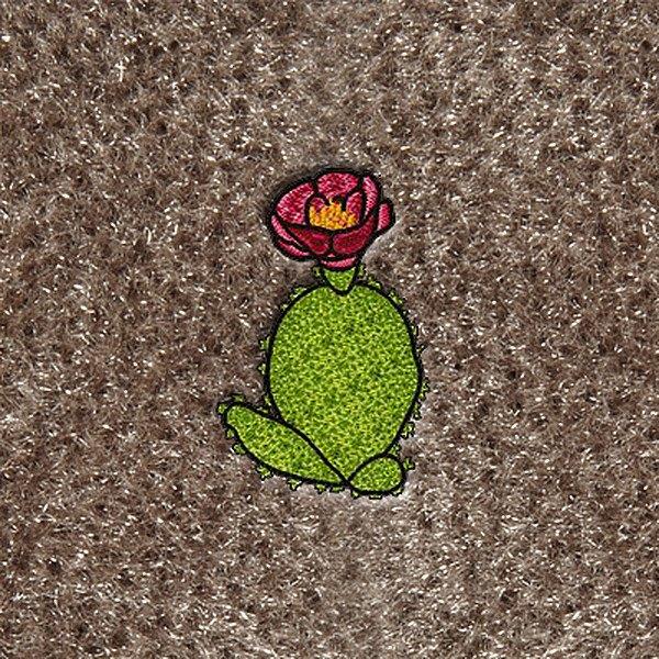 Dashmat ls quot cactus embroidered logo