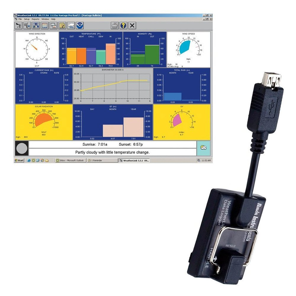 6510usb 2 davis instruments� 6510usb usb weatherlink™ for vantage pro  at n-0.co