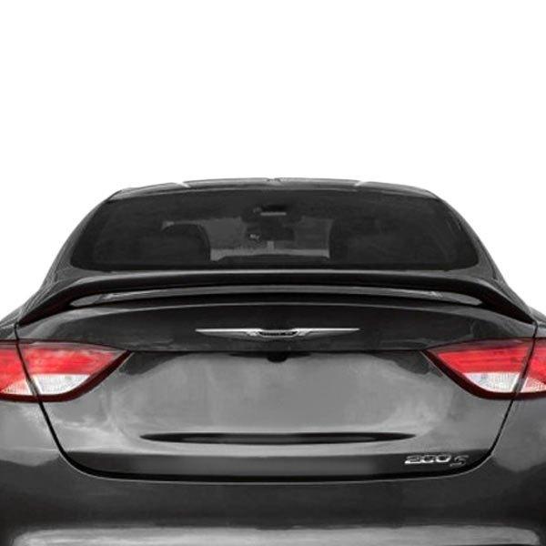 For Chrysler 200 15-17 Dawn Custom Style Rear Spoiler Unpainted