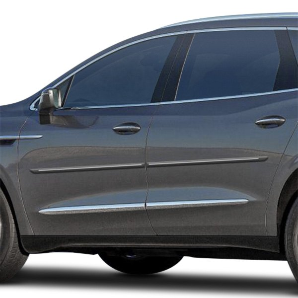 """The All New 2018 Buick Enclave: Buick Enclave 2018-2019 1.25"""" Wide Body Side Moldings"""