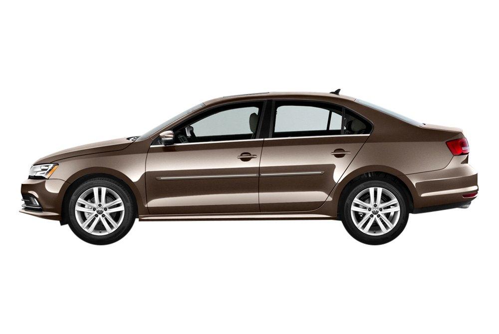 "Volkswagen 2015 Jetta: Volkswagen Jetta 2015 1.25"" Wide Body Side Moldings"