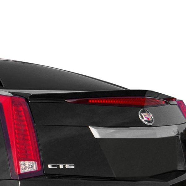 Cadillac Accessories Catalog: Cadillac CTS Coupe 2011 Custom Style Flush Mount Rear Spoiler