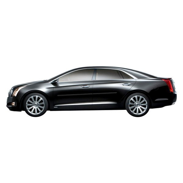 """Cadillac XTS 2013 1.25"""" Wide Body Side Moldings"""