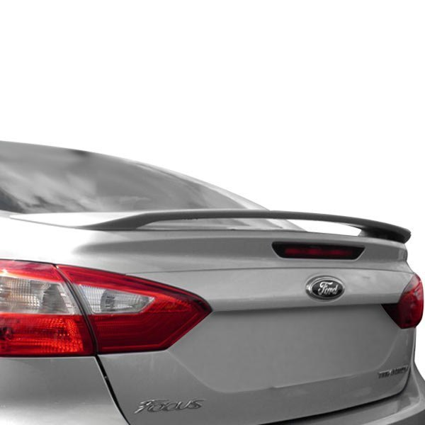 Dawn Ford Focus Sedan 2012 2014 Factory Style Rear Spoiler