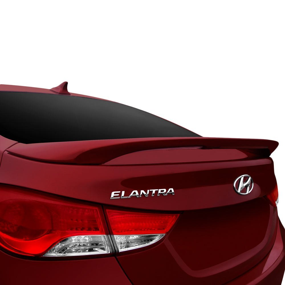 Dawn 174 Hyundai Elantra Coupe Sedan 2013 2015 Factory Style Rear Spoiler With Light